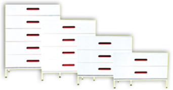 Meubles de classement pour le bureau mobilier meubles for Bureau 60 cm de profondeur